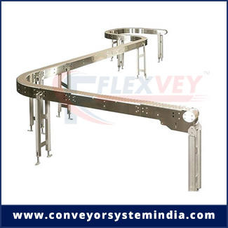 curved belt conveyor manufacturer, exporter in rajkot